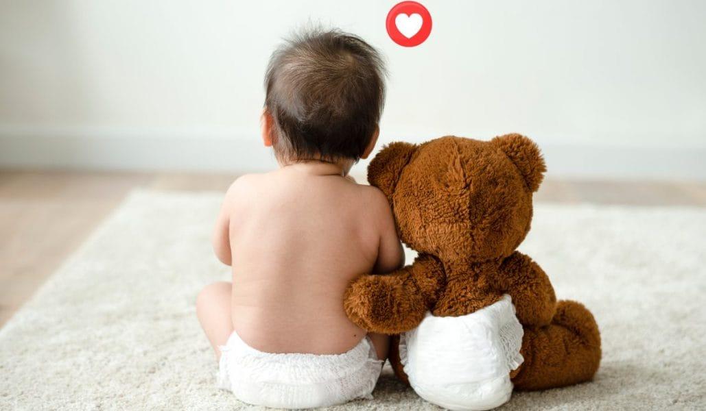 Etapas de los pañales para bebés
