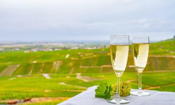 Vinos franceses Champagne