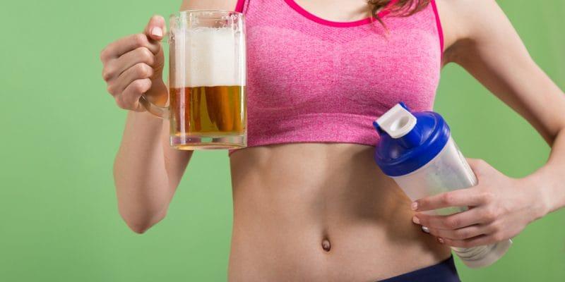 beneficios de beber cerveza despues de hacer ejercicio
