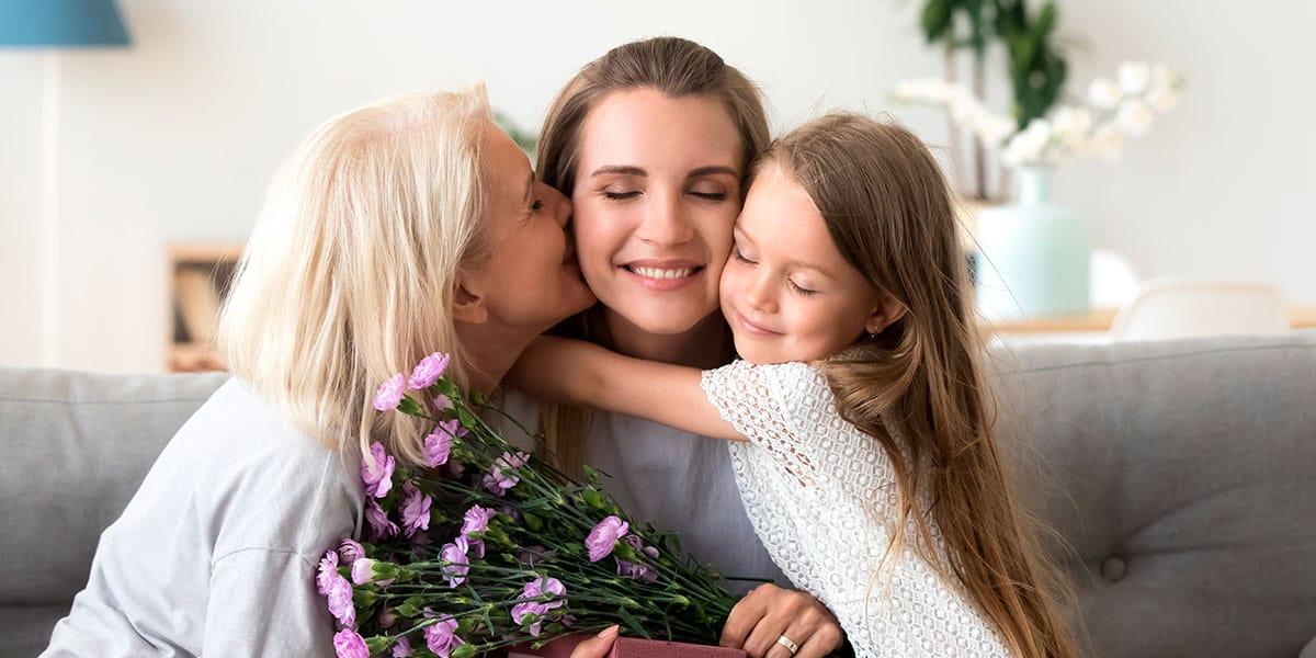 Cómo mandar flores a domicilio a mamá