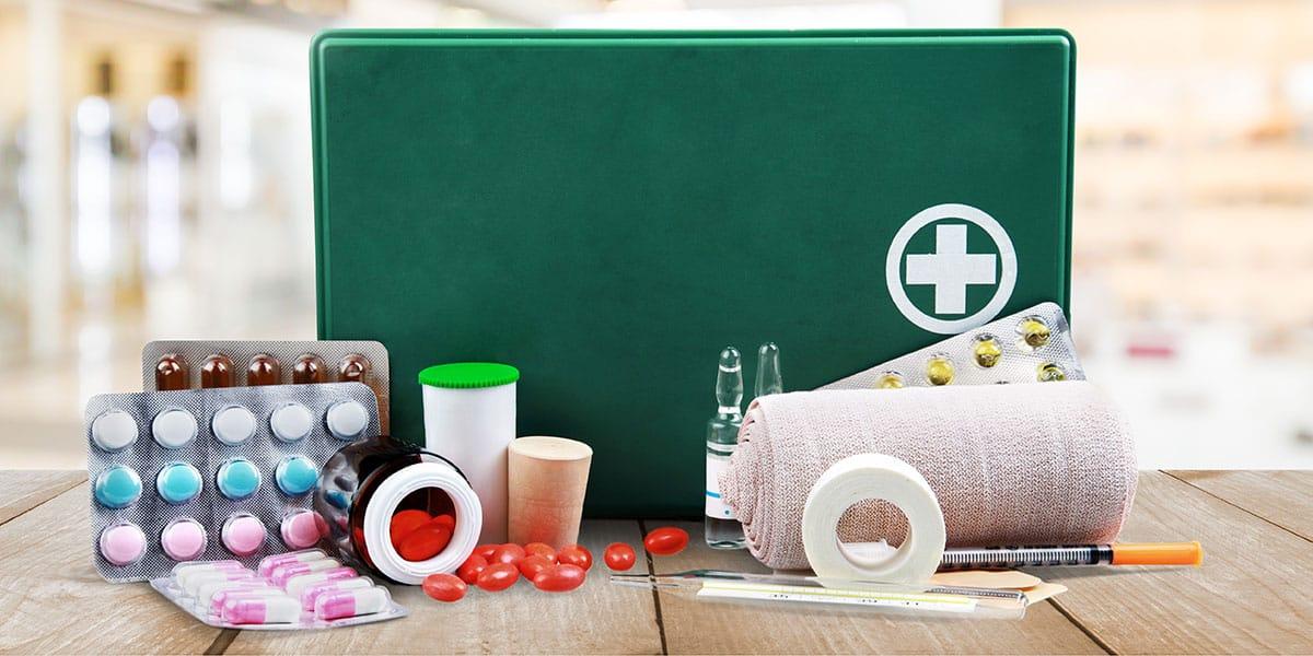 Botiquín de primeros auxilios: contenido básico