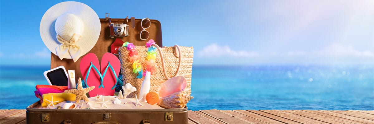 Prepara la maleta, ¡las vacaciones de verano se acercan!