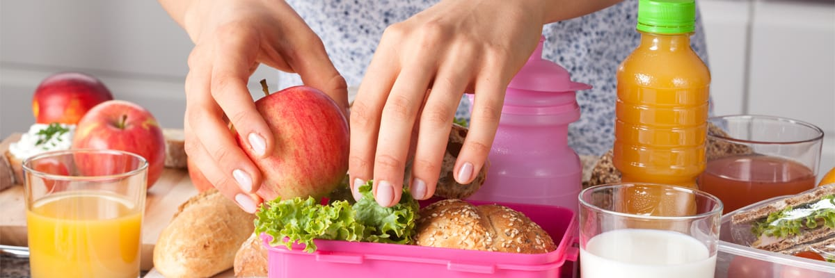 Básicos del lunch escolar