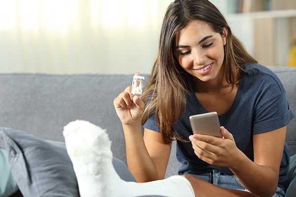 Comodidad al Poder realizar tus compras desde tu celular