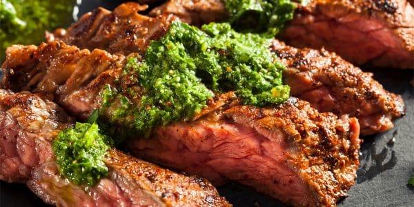 cortes de carne para asar arrachera