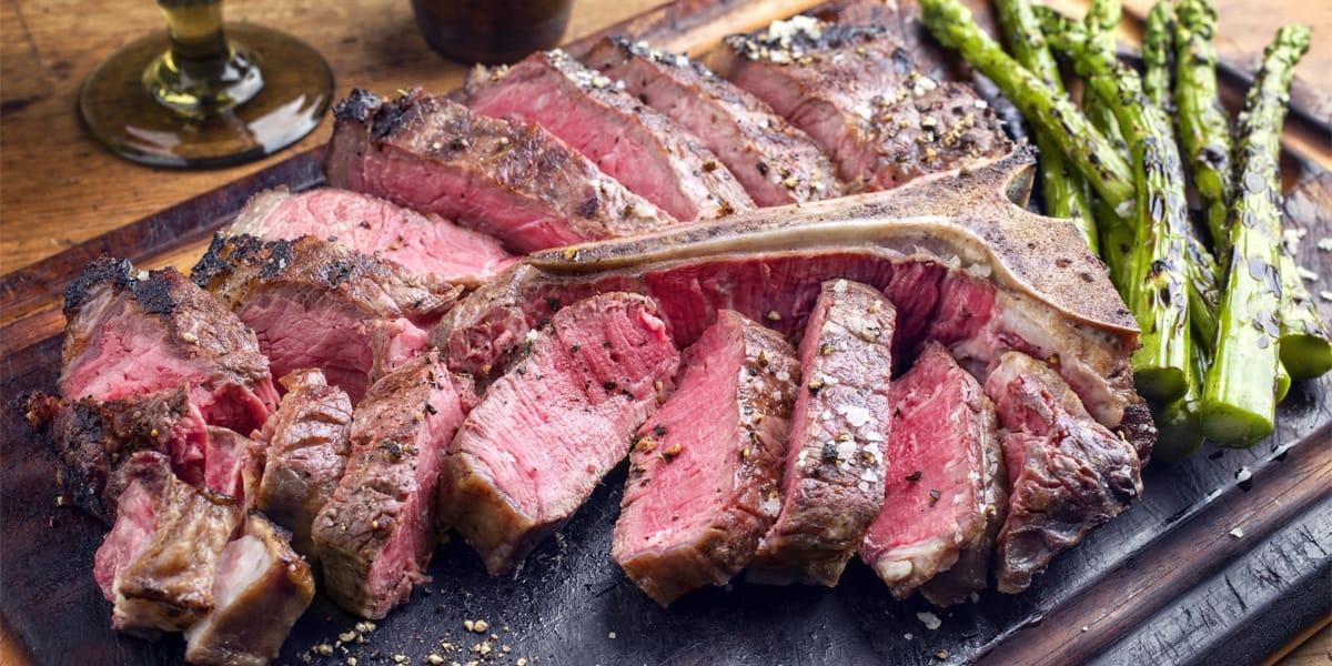 cortes de carne para asar