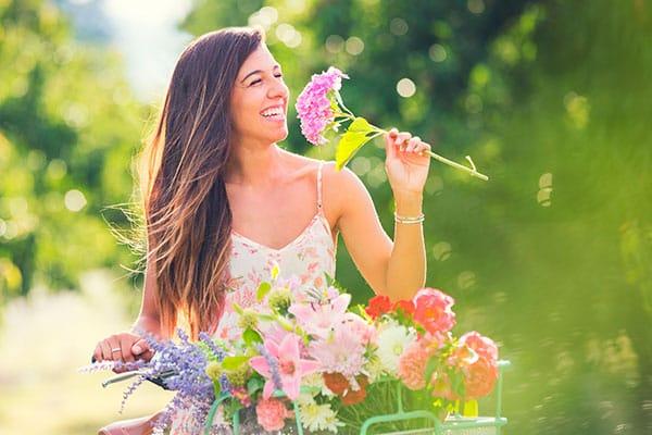 Las flores Levantan el ánimo