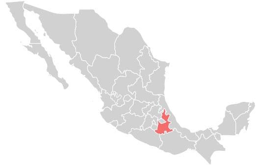 Platillos típicos de México en Puebla