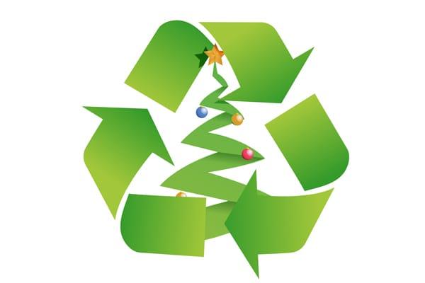 reciclaje de arboles de navidad