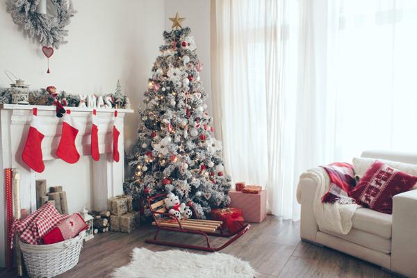 decoración navideña 2019