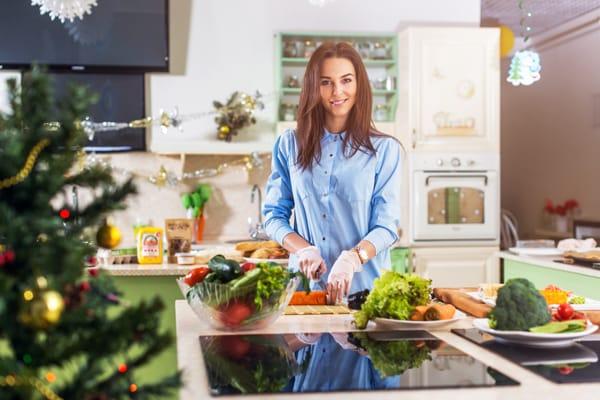Cómo no subir de peso en Navidad