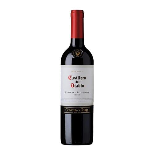 vino tinto Concha y Toro Casillero del Diablo