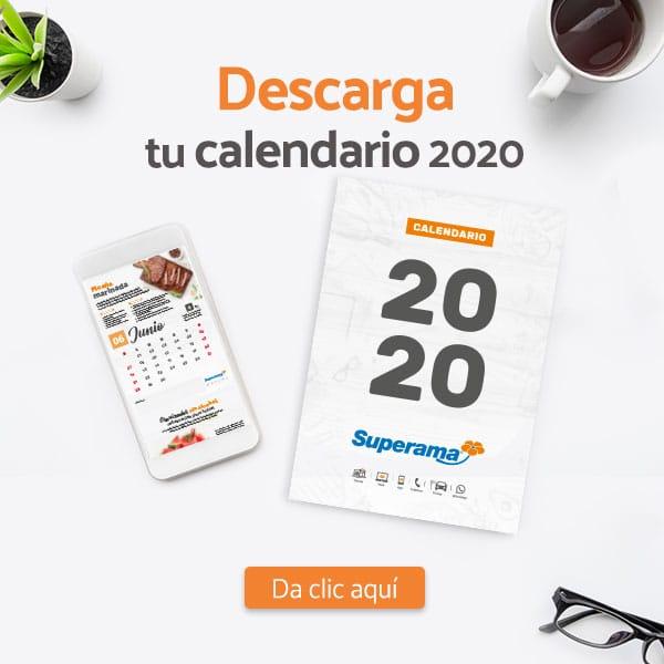 Calendario Superama 2020
