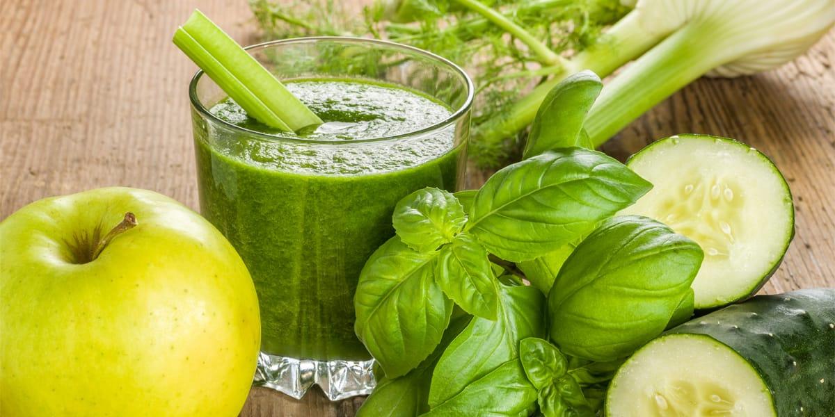 recetas de cocina smoothie de verduras y frutas