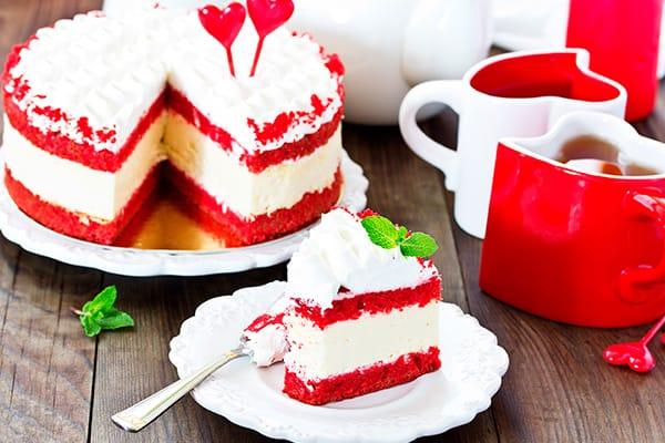 Cheesecake de red velvet