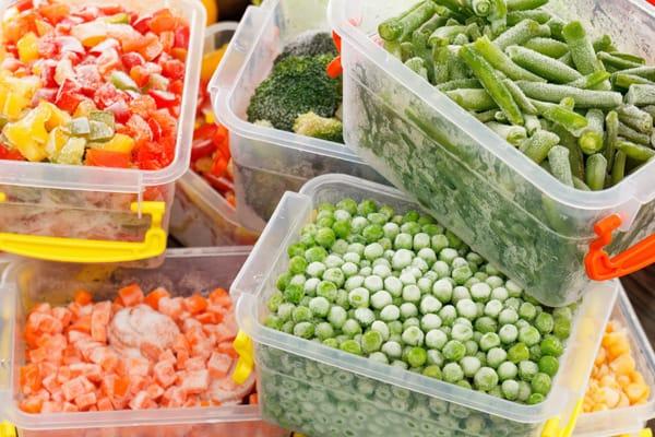 cómo congelar los alimentos