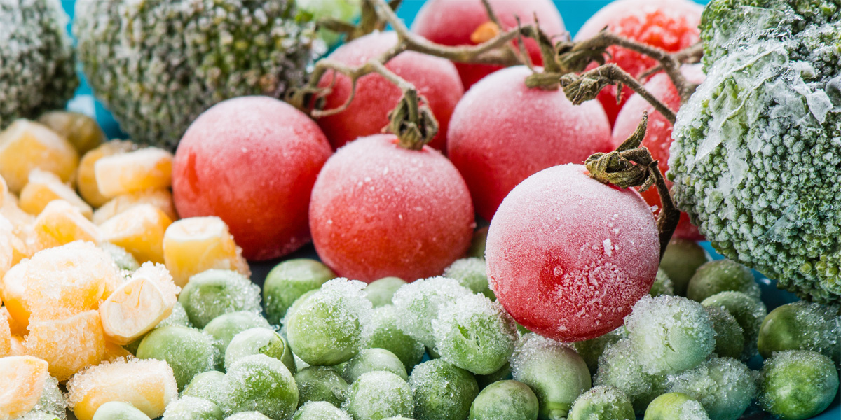cómo congelar frutas y verduras