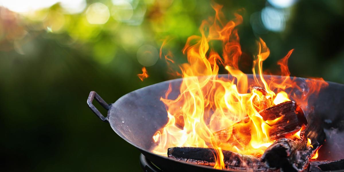 Cómo hacer fuego para la parrilla