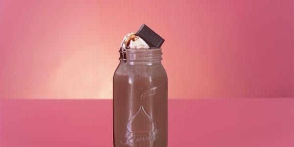 Flotante de chocolate Hershey's