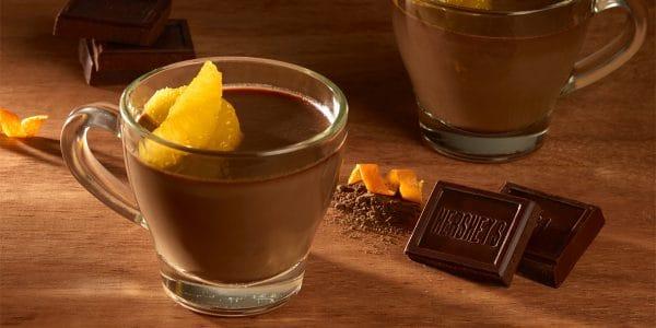 Gelatina de chocolate y naranja Hershey's