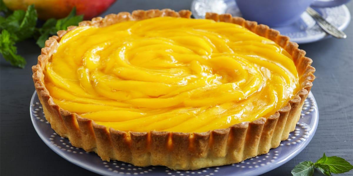 recetas de cocina Pay de mango