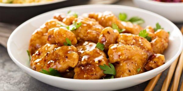 recetas de cocina Pollo a la naranja