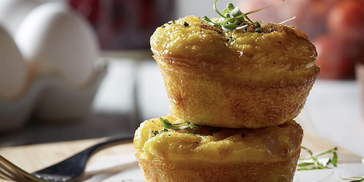 recetas de cocina Muffins de huevo