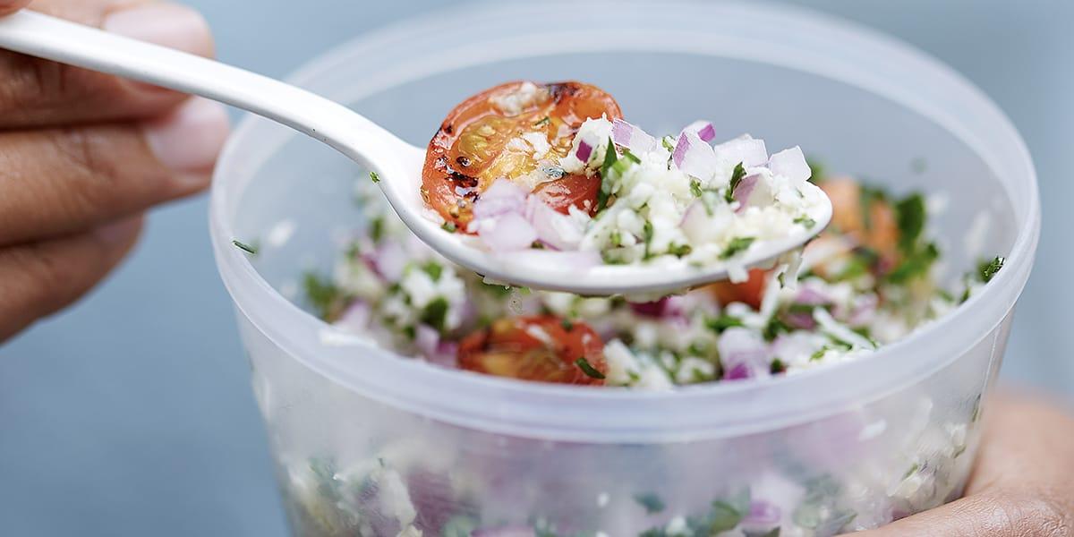 recetas de cocina Tabule de coliflor