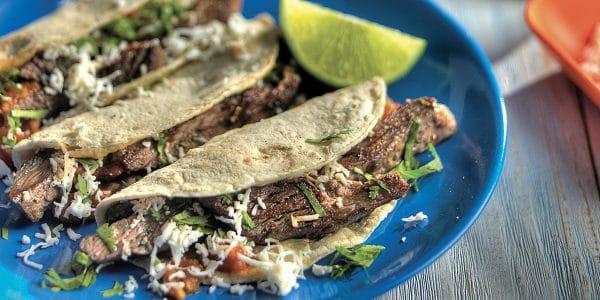recetas de cocina Tacos de arrachera