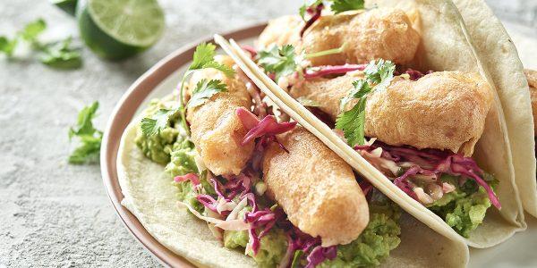 recetas de cocina Tacos de atún estilo ensenada