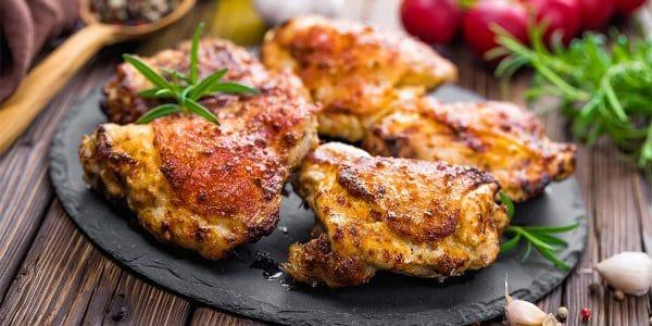 recetas de cocina Muslos de pollo