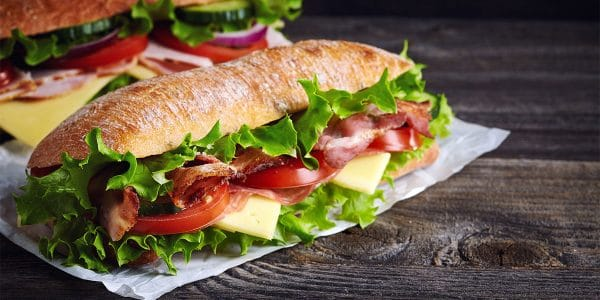 recetas de cocina Panceta entre panes