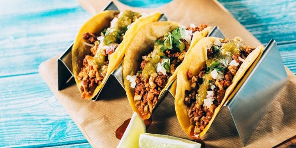 recetas de cocina Tacos de Rib eye