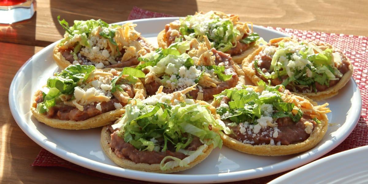 recetas de cocina Antojitos mexicanos