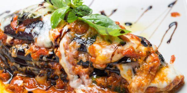 recetas de cocina Lasaña de berenjena