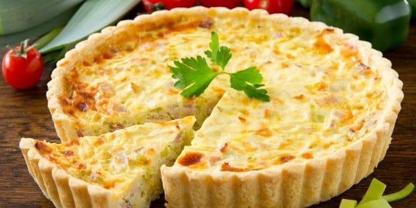 recetas de cocina Tarta de flor de calabaza