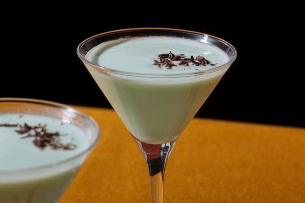 recetas de cocteleria Coctel saltamontes