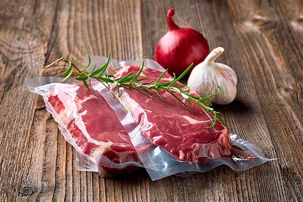 carne envasada al vacío
