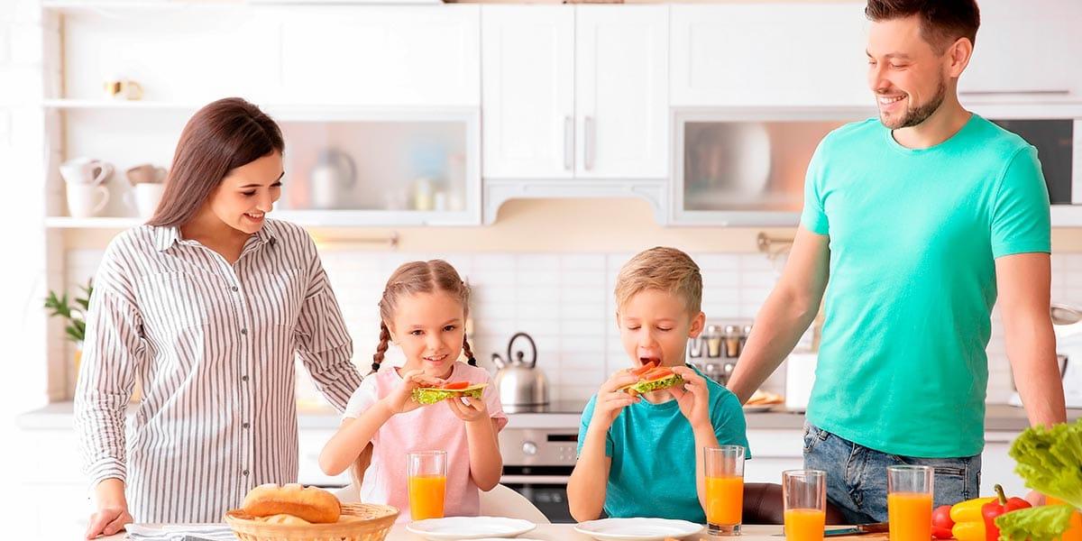Alimentación saludable para niños de primaria