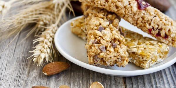 recetas de cocina barras de cereal