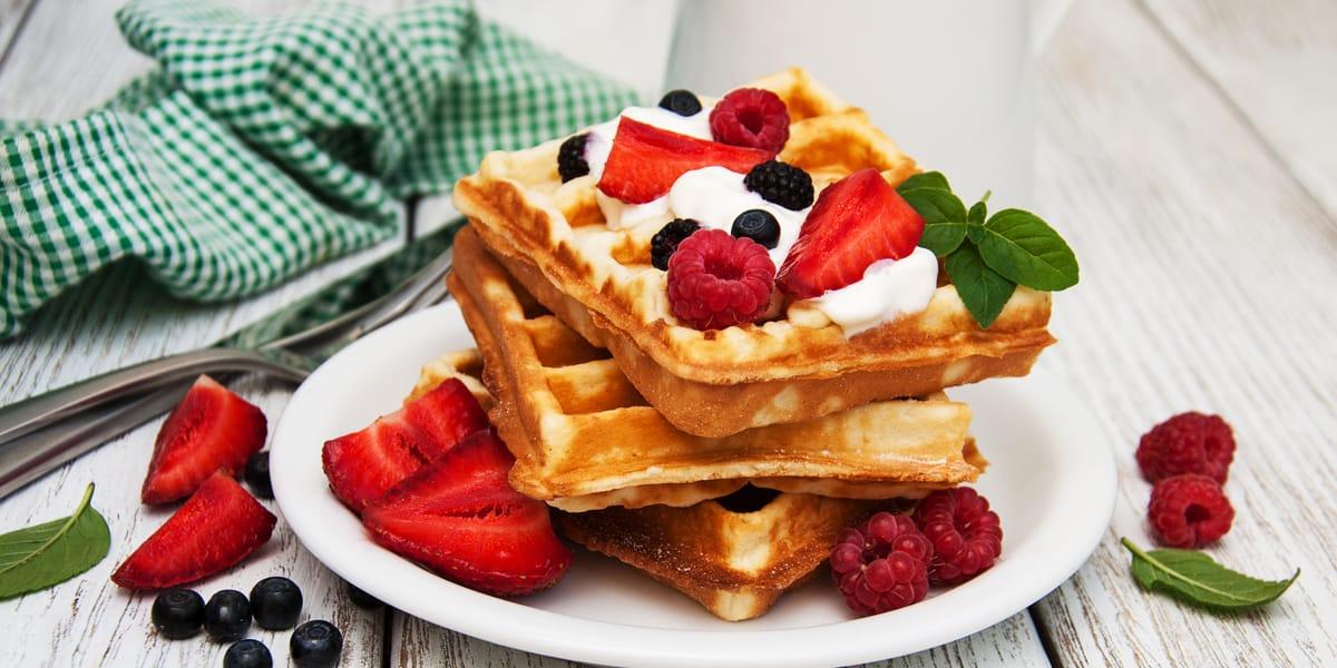 recetas de cocina waffles multigrano