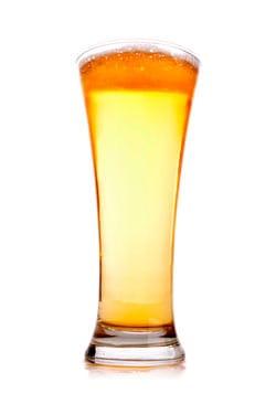 Vaso pilsner de cerveza