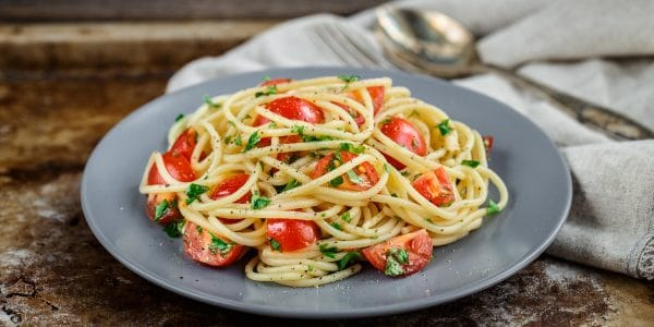 receta espagueti blanco
