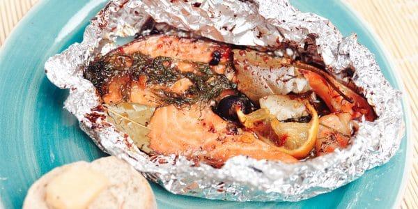Cómo hacer filete de pescado empapelado