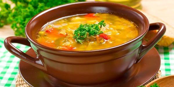 Sopa de papa receta