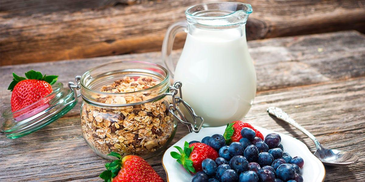 Alimentos para complementar tu rutina