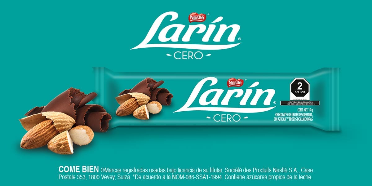 Chocolate Larín Cero
