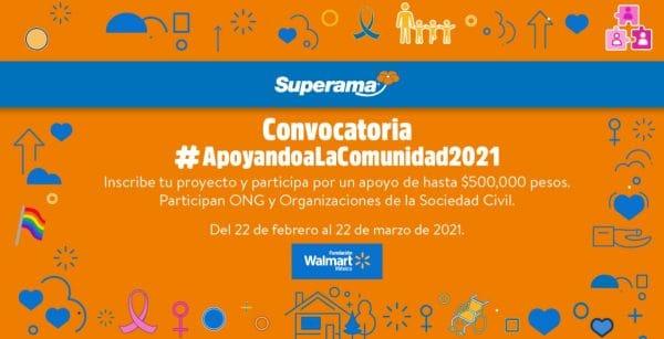 Convocatoria Apoyando a la Comunidad 2021