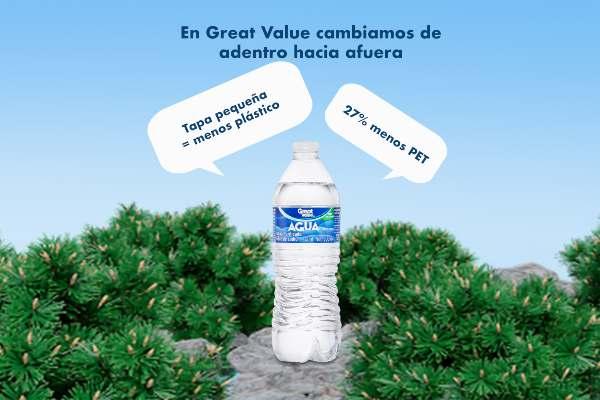 Agua embotellada Great Value