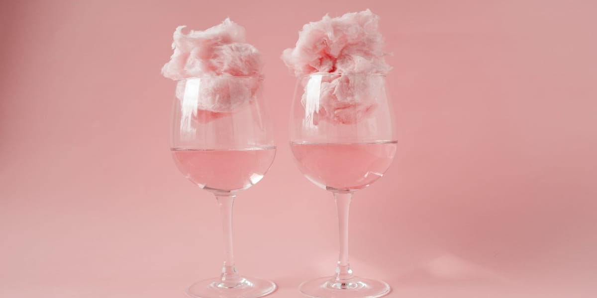 cotton candy champagne